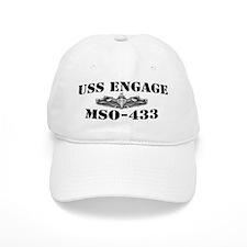USS ENGAGE Baseball Cap