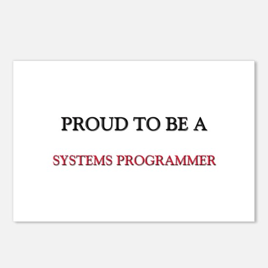 Proud to be a Systems Programmer Postcards (Packag
