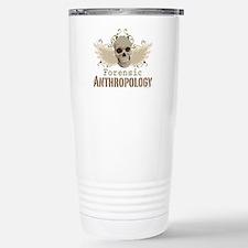 Forensic Anthropology Stainless Steel Travel Mug
