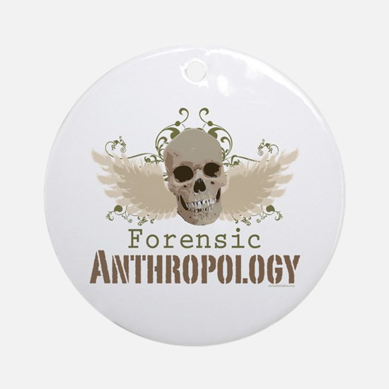 Forensic Anthropology Ornament (Round)