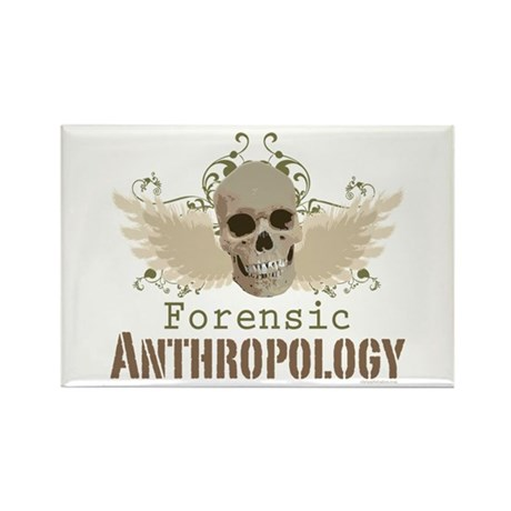 Forensic Anthropologist Rectangle Magnet (10 pack)