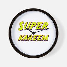 Super kareem Wall Clock