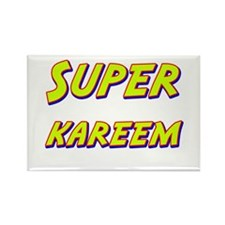 Super kareem Rectangle Magnet