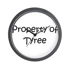 Unique Tyree Wall Clock