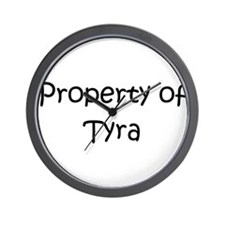 Unique Tyra Wall Clock