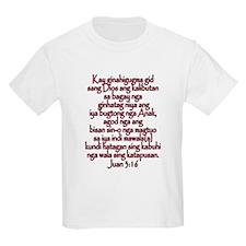 John 3:16 Hiligaynon T-Shirt