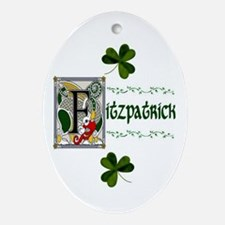 Fitzpatrick Celtic Dragon Keepsake Ornament