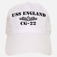 USS ENGLAND Baseball Baseball Cap