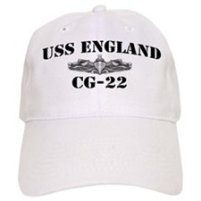 USS ENGLAND Baseball Cap