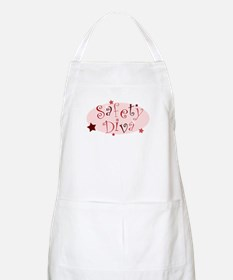 """Safety Diva"" [red] BBQ Apron"