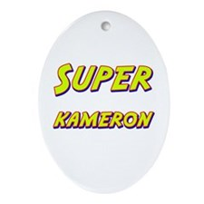 Super kameron Oval Ornament