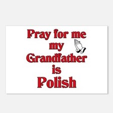Pray for me my grandfather is Polish Postcards (Pa
