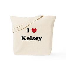 I love Kelsey Tote Bag