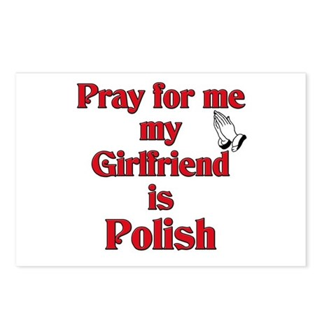 Pray for me my girlfriend is Polish Postcards (Pac