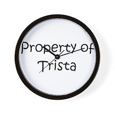 Unique Trista Wall Clock