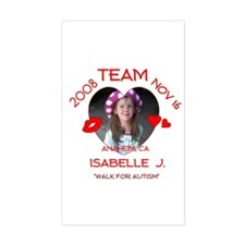 ISABELLE J Rectangle Decal