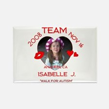 ISABELLE J Rectangle Magnet