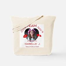 ISABELLE J Tote Bag