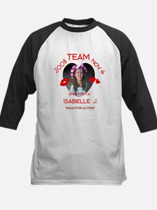 ISABELLE J Kids Baseball Jersey