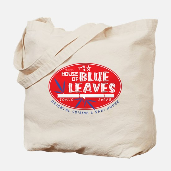 House of Blue Leaves Tote Bag
