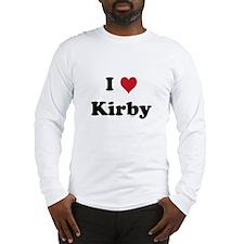 I love Kirby Long Sleeve T-Shirt