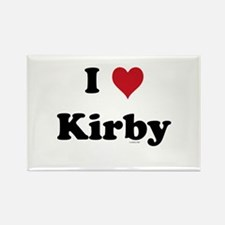 I love Kirby Rectangle Magnet (10 pack)
