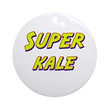 Super kale Ornament (Round)