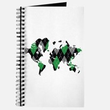 Argyle World Map Journal