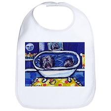 TIBETAN TERRIER bath Bib