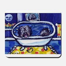 TIBETAN TERRIER bath Mousepad