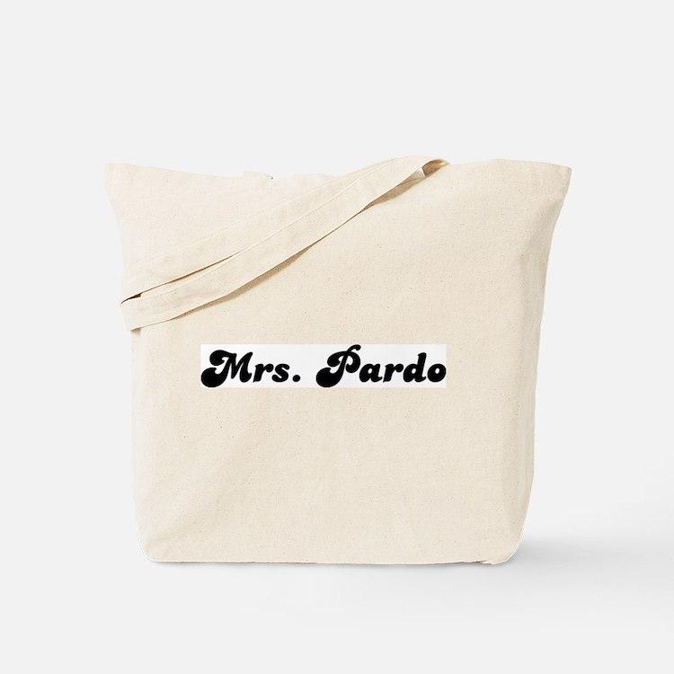 Mrs. Pardo Tote Bag