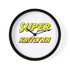 Super kaitlynn Wall Clock