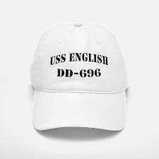 USS ENGLISH Baseball Baseball Cap