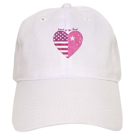 Joined at the Heart (pink) Cap