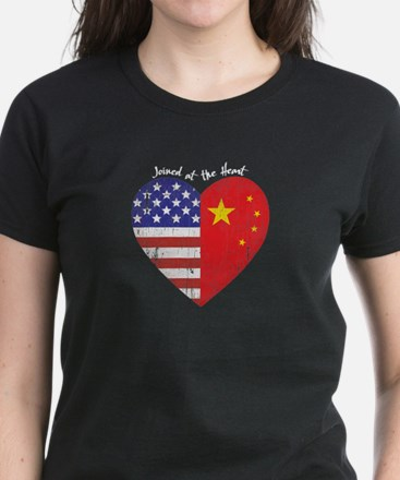 Joined at the Heart Women's Dark T-Shirt