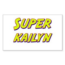 Super kailyn Rectangle Decal