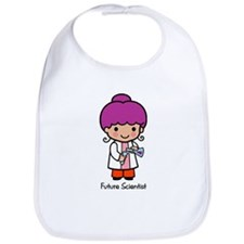 Future Scientist - girl Bib