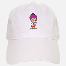 Future Scientist - girl Baseball Baseball Cap