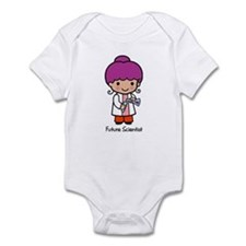 Future Scientist - girl Infant Creeper