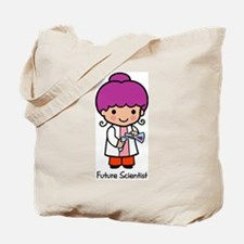 Future Scientist - girl Tote Bag