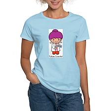 Future Scientist - girl Women's Pink T-Shirt