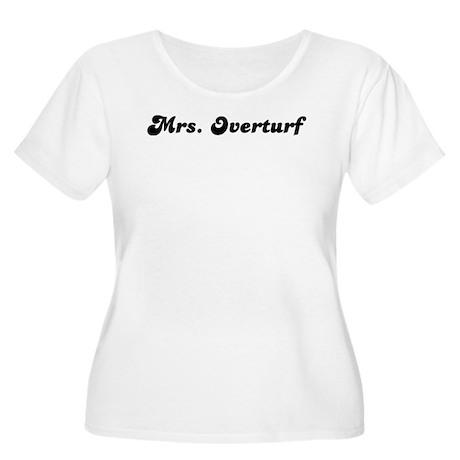 Mrs. Overturf Women's Plus Size Scoop Neck T-Shirt
