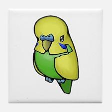 Little Budgie Tile Coaster