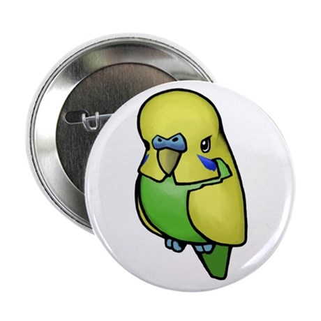 "Little Budgie 2.25"" Button (100 pack)"