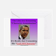 """Character Assassination"" Greeting Card"