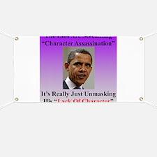 """Character Assassination"" Banner"