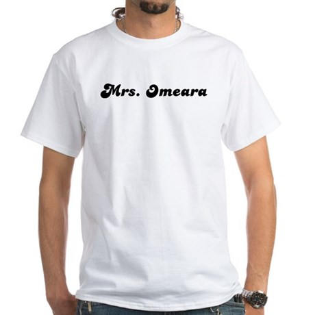 Mrs. Oneal White T-Shirt