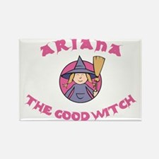 Ariana The Good Witch Rectangle Magnet