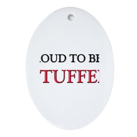 Proud to be a Stuffer Oval Ornament