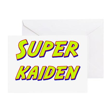 Super kaiden Greeting Card